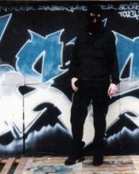 La scène graffiti et street-art à Quimper – Janv. 2000