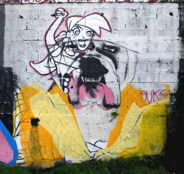 Jam graffiti Saint-Brieuc; avril 2015