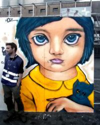 Peintures graffiti récréatives / Fête de la musique
