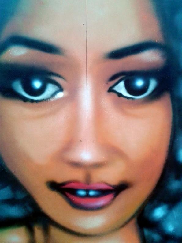 Portrait graffiti pour le Carepa à Quimper