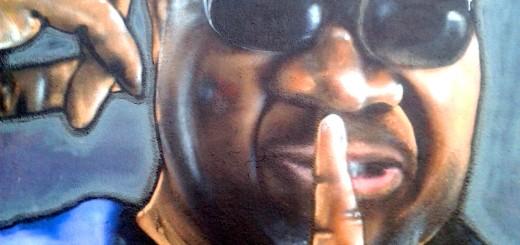 Graffiti Tribute Papa Wemba Quimper
