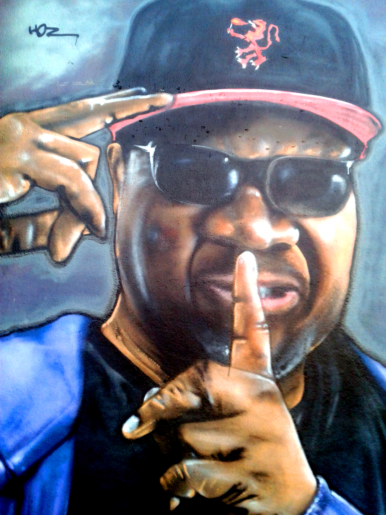 Graffiti Tribute Papa Wemba Quimper