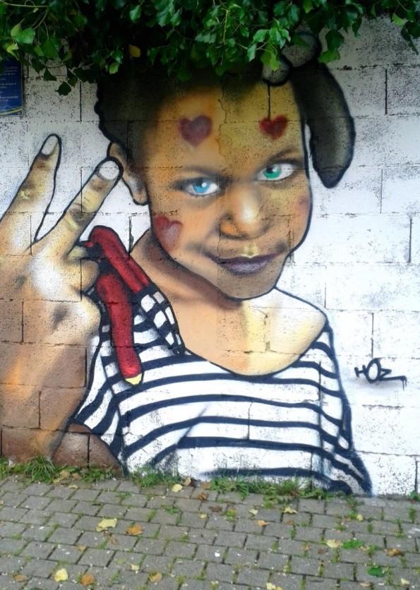 Atelier graffiti à Quimper