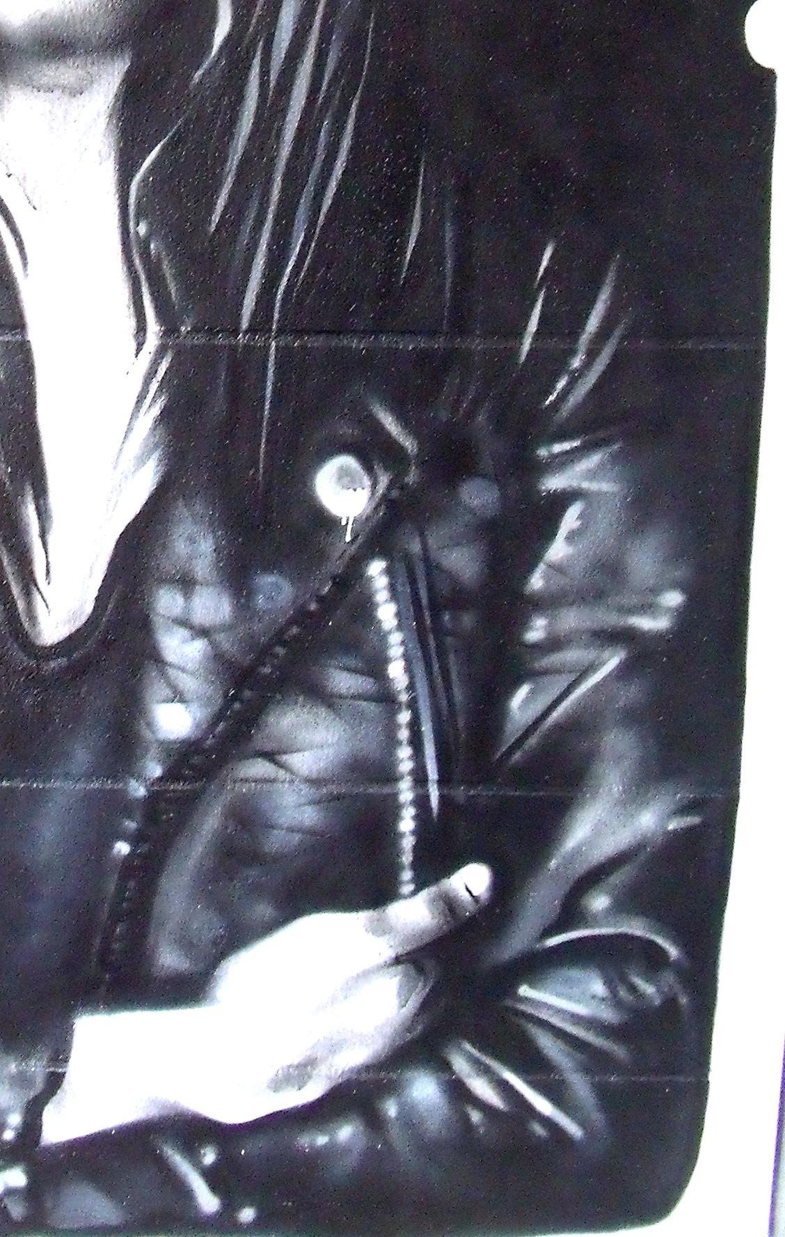 Décoration graffiti à Concarneau