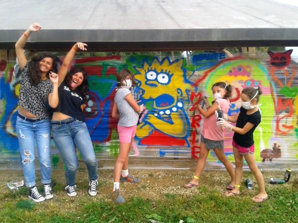 Atelier graffiti à Mousterlin (29)