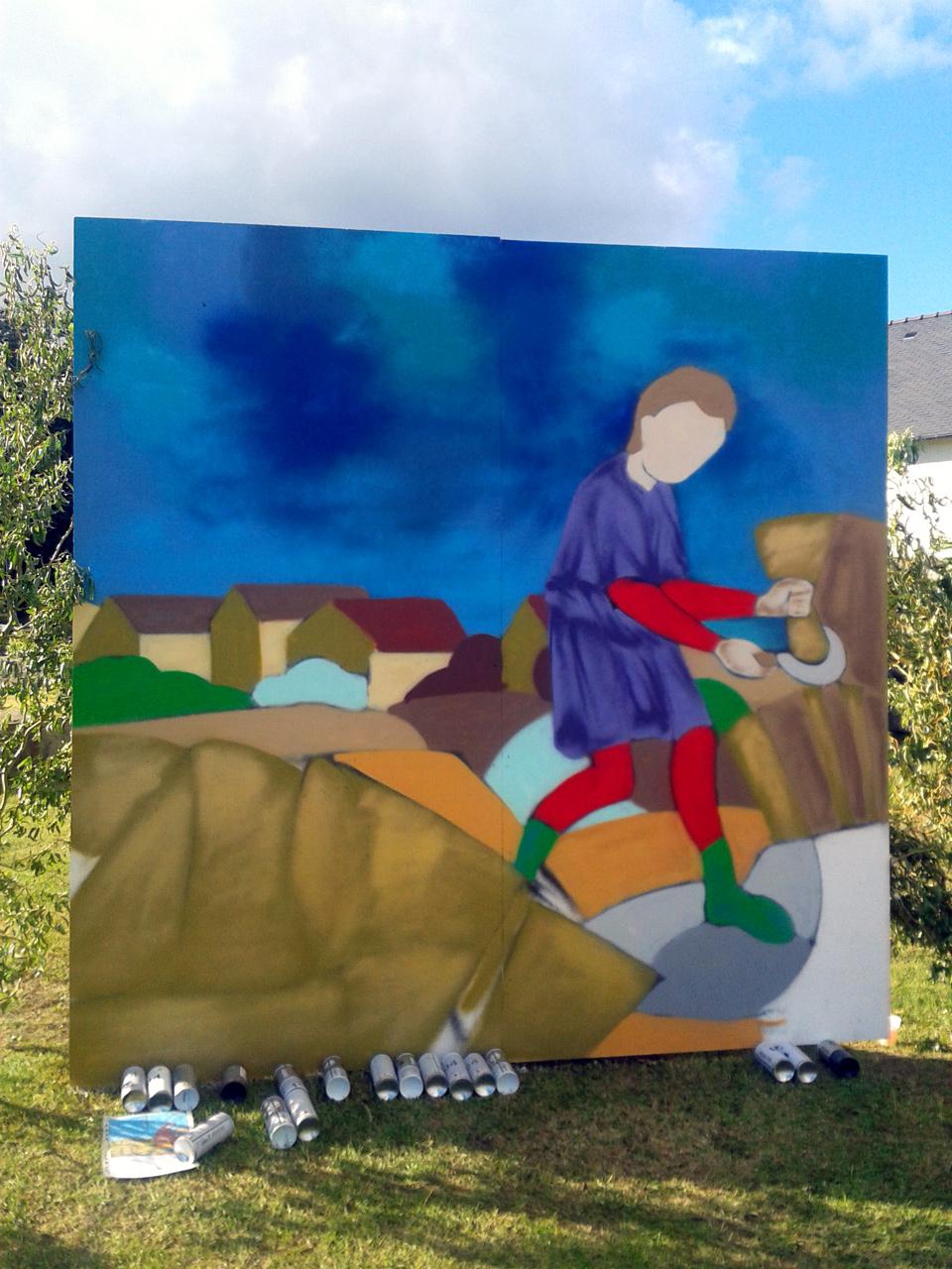 Moisson Et Traditions à Saint-Evarzec