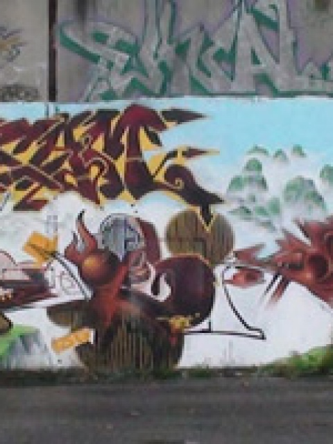 La scène graffiti et street-art à Brest (#2)