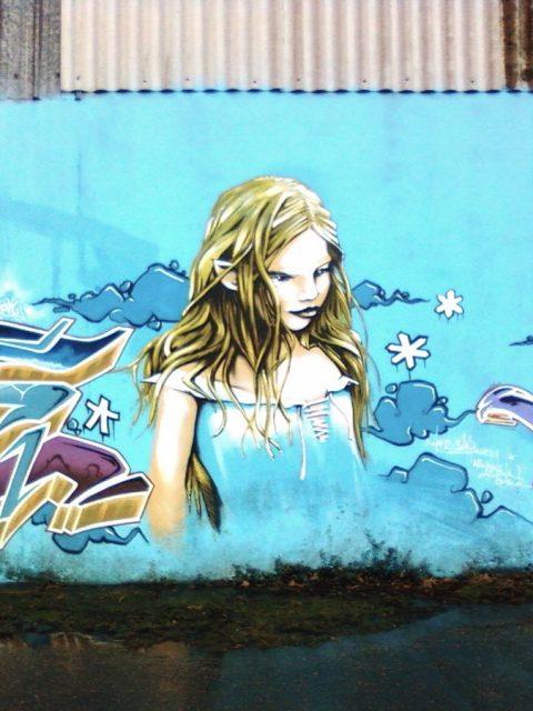 La scène graffiti et street-art à Quimper – Fév. 2011