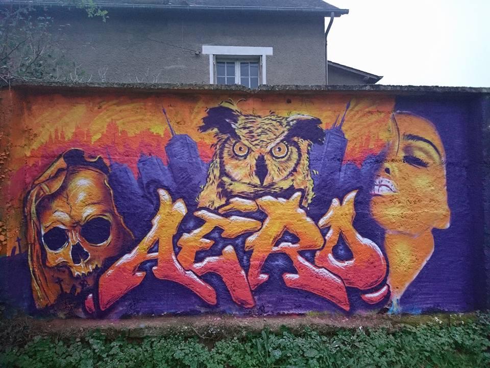 Jam graffiti Shendo meeting à Rennes