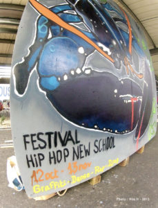 Performance graffiti Hip Hop New School