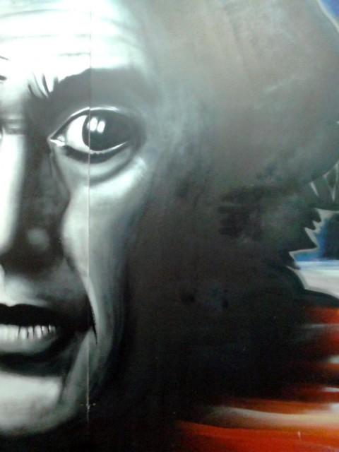 """Fresque """"NYC"""" pour Be Kool à Quimper"""