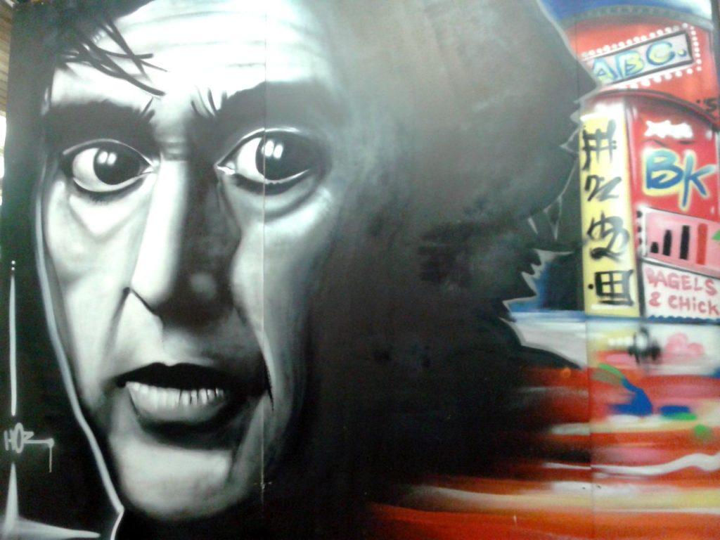 Fresque «NYC» pour Be Kool à Quimper