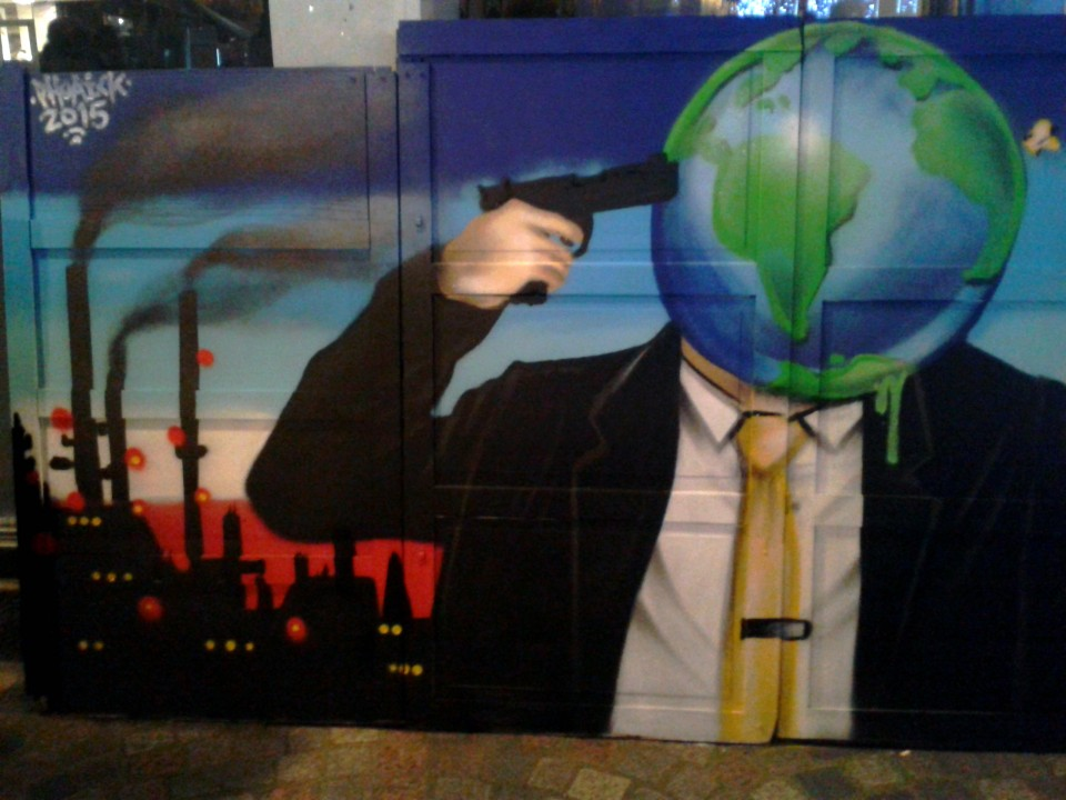 Graffiti Cop21 Quimper