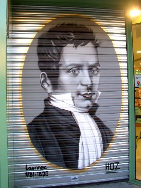 Portrait de Laennec à Quimper