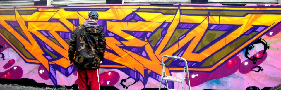 """Jam Graffiti """"Fourty"""" à Quimper"""