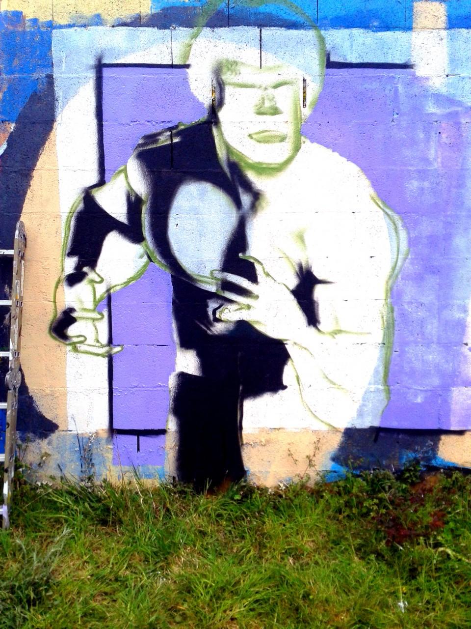 Jam Graffiti Super Héros Vannes