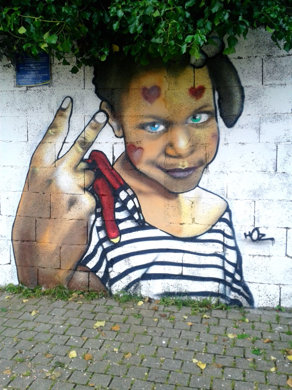 Atelier graffiti école primaire Quimper