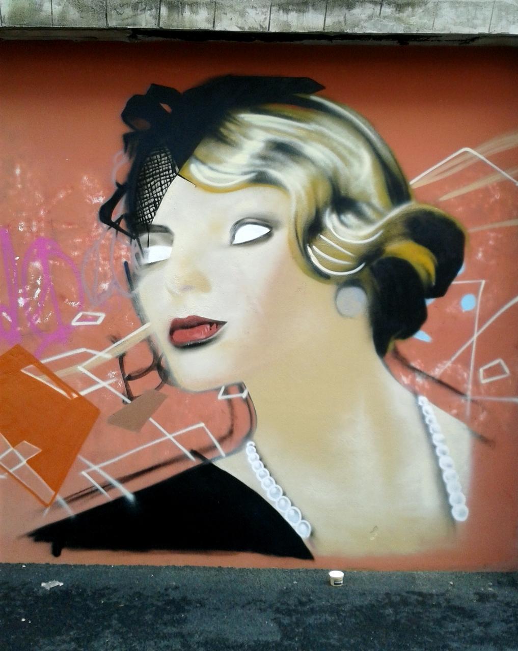 Décoration graffiti hôtel Kregenn Quimper