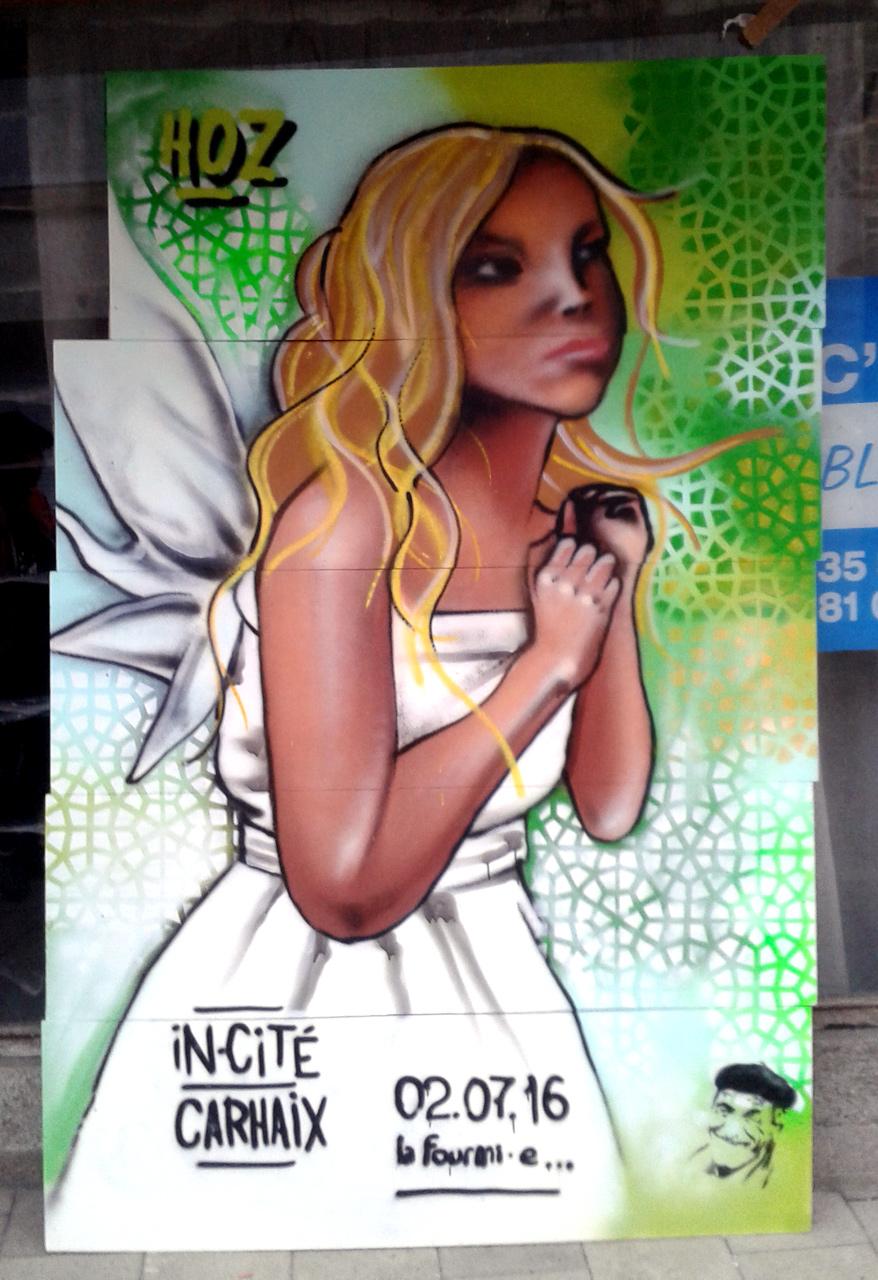 Festival street-art In Cité à Carhaix
