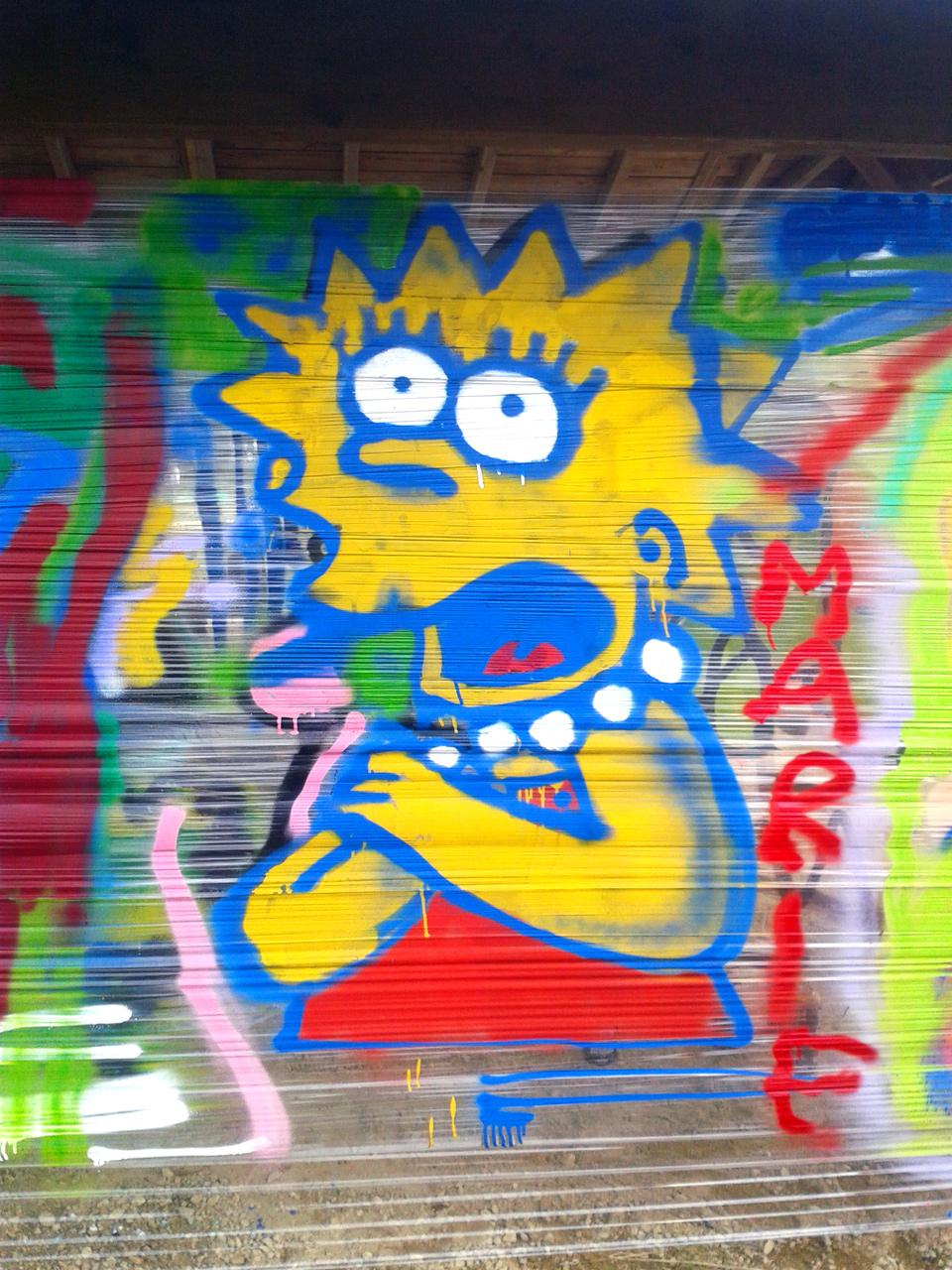 Atelier graffiti Quimper Fouesnant