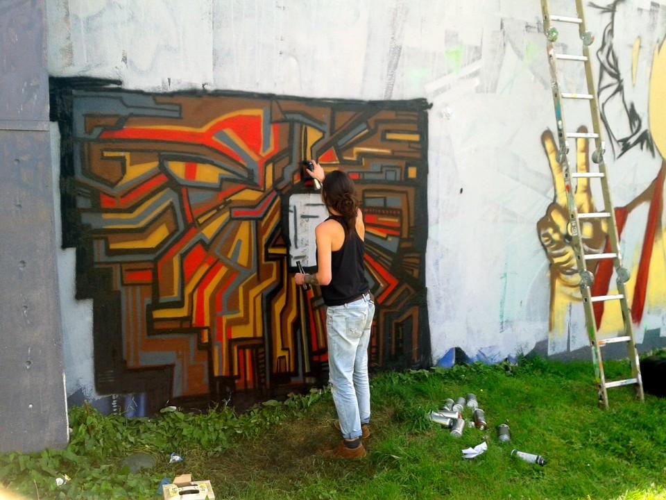 Fresque Graffiti Providence Quimper