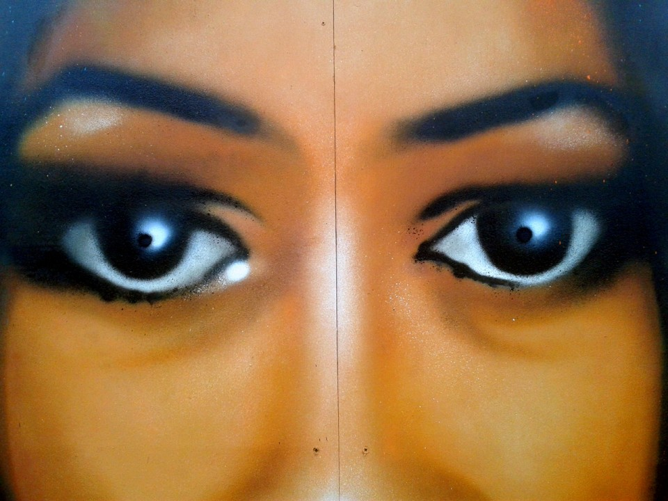 Portrait Graffiti Olympia1990 Carepa Quimper