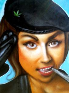Les soeurs Pétard – Fresque graffiti à Quimper