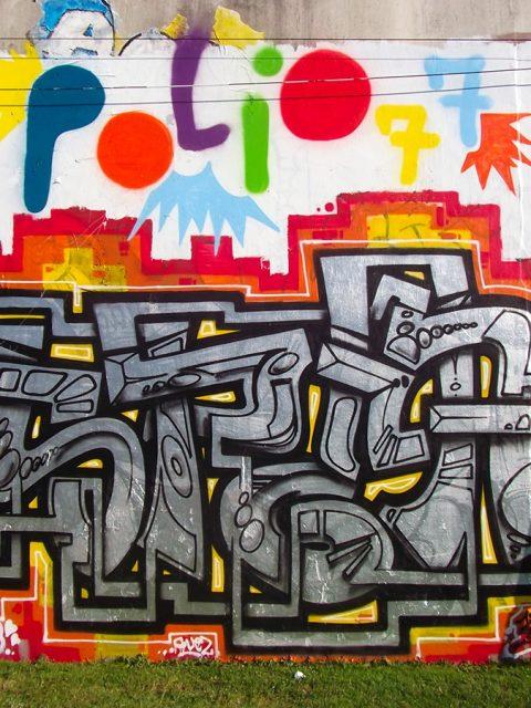 La scène graffiti et street-art à Quimper – Juill. 2015