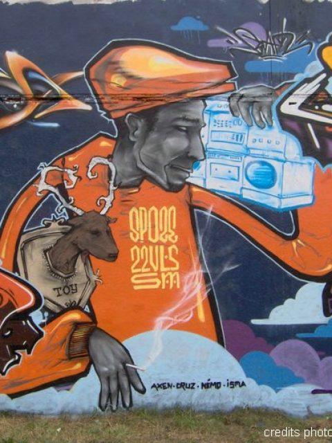 "Jam graffiti ""Essence Hip Hop"" à Quimper"