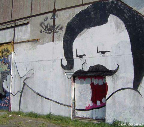 La scène graffiti et street-art à Quimper – Sept. 2007