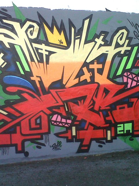 La scène graffiti et street-art à Quimper – Oct. 2011