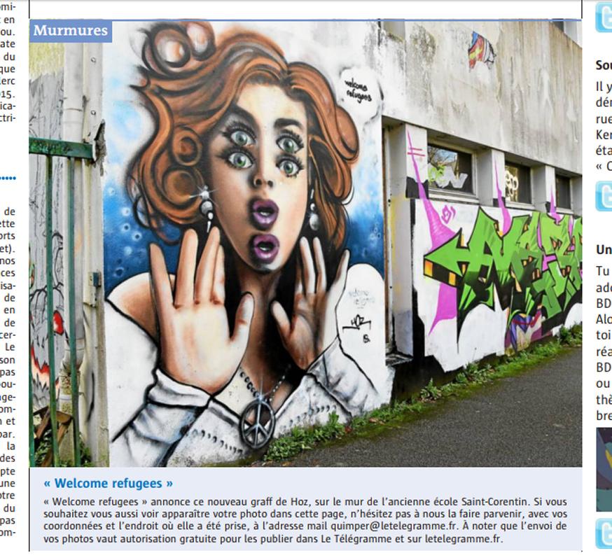 Le Télégramme Quimper du 27/01/2018