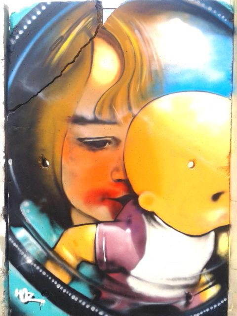 Portrait graffiti ♥ Alice ♥ par HOZ