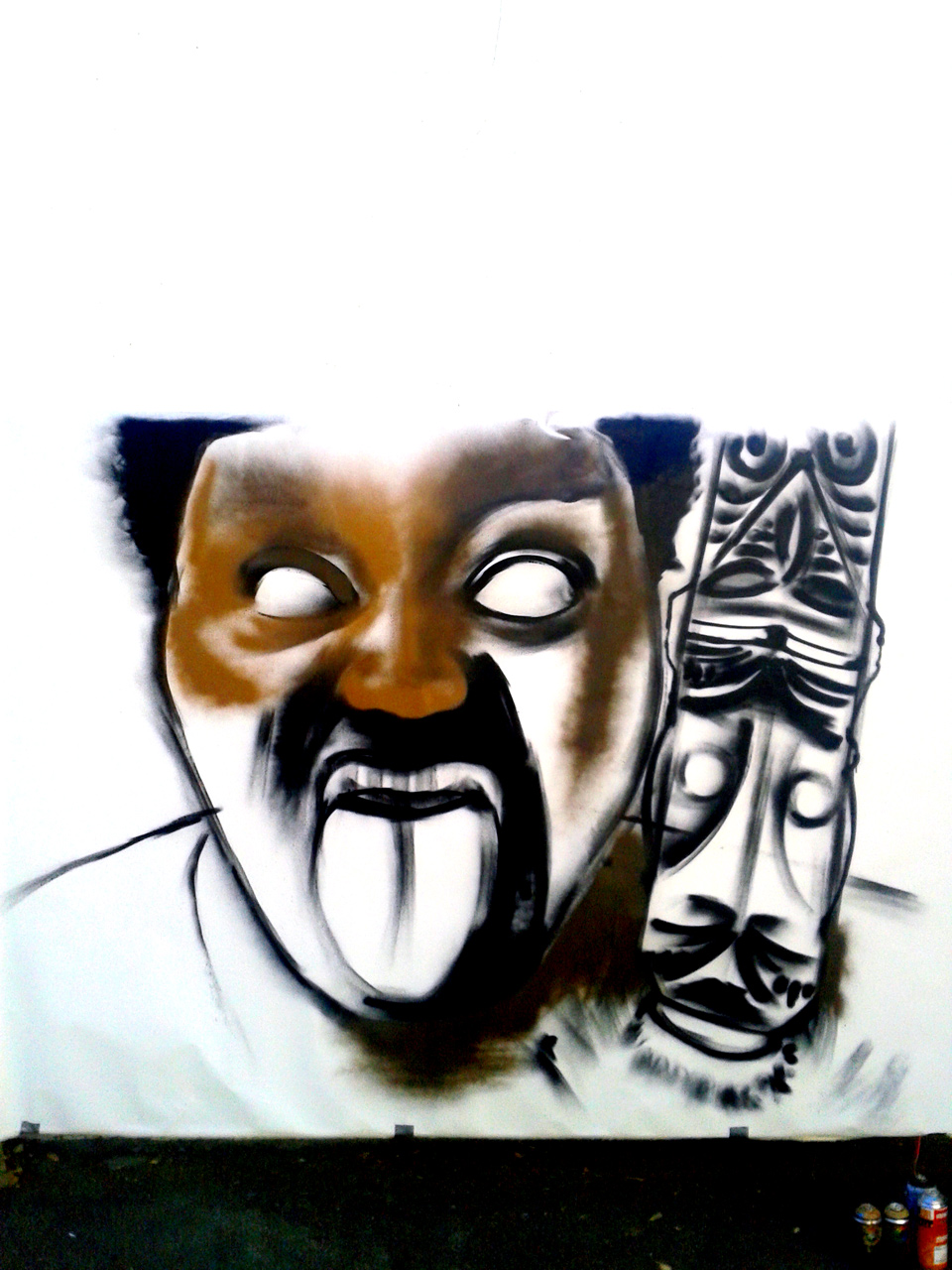 Performance graffiti