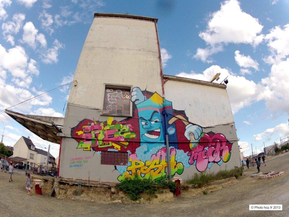 Ateliers Du Vent. Rennes 2013. Photo : HOZ