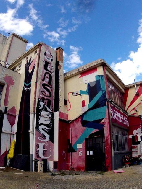 Ateliers du vent #streetart #Rennes Juillet 2013.