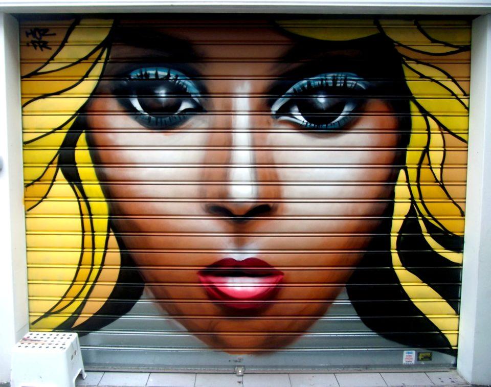 Portrait Graffiti Bijouterie Quimper Par HOZ