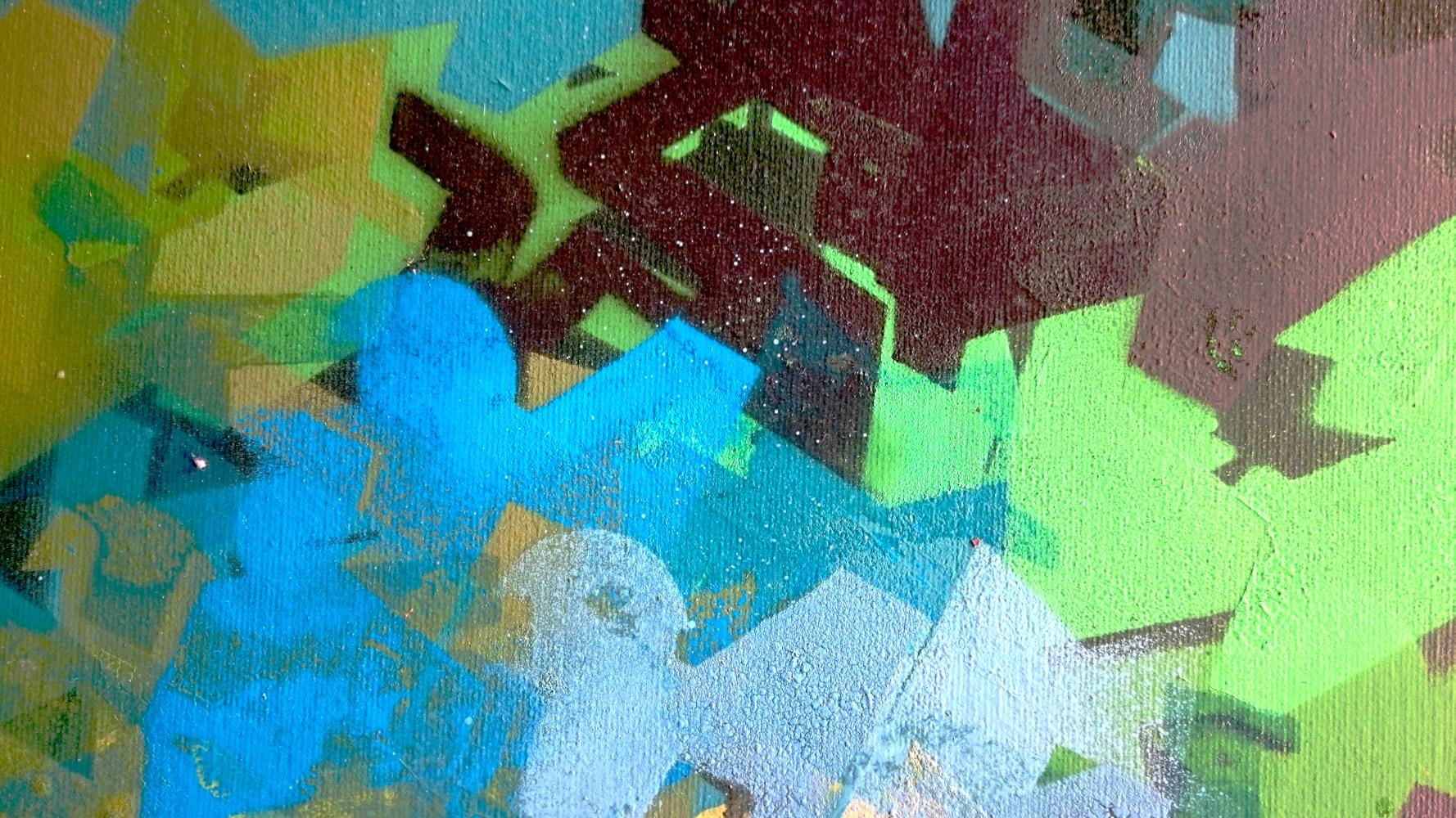 Lettres HOSE Graffiti Sur Toile