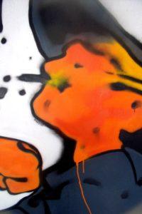 Hommage graffiti à Bruno Le Floc'h