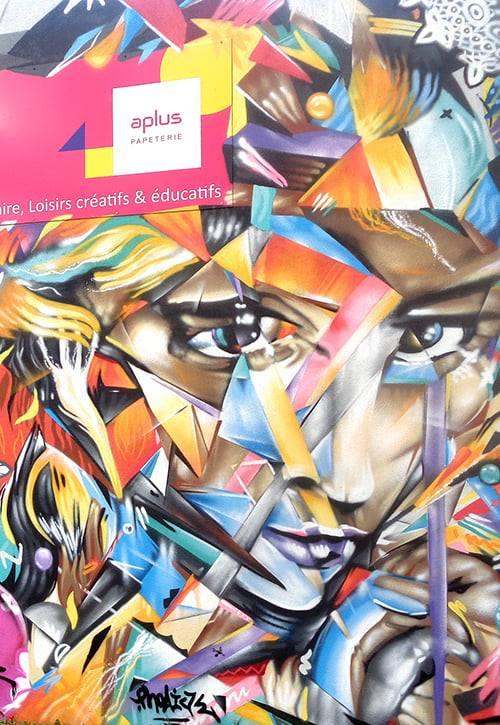 Décoration graffiti Pont-l'Abbé 7
